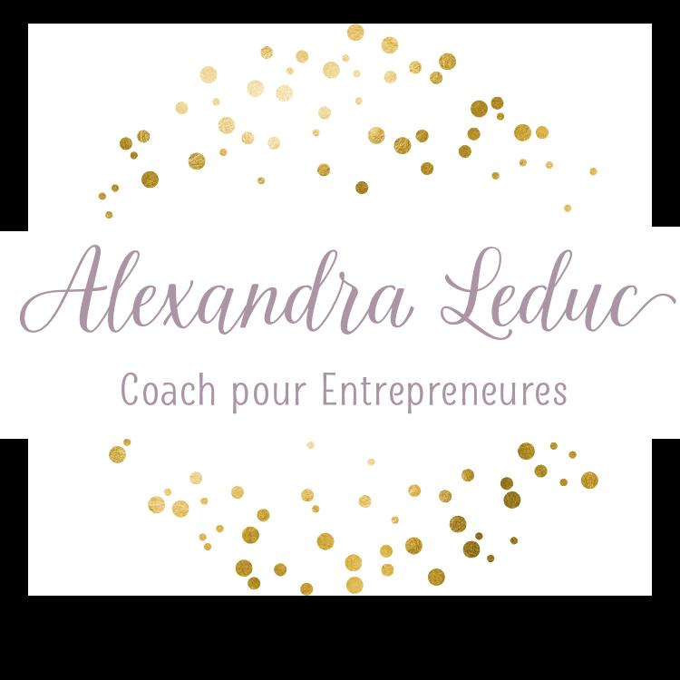 Alexandra Leduc coach pour entrepeneures